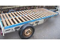 Lager flatbed trailer