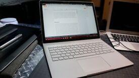 Microsoft Surface Book, 13.5 inch, Core i7, 16GB RAM, 512GB SSD, Very Good Condition, UK Keyboard