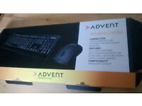 Advent Wireless Keyboard and Mouse in Norwich