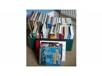 Box Of Book Paperback & Hardback Some Novels, Cooking, Gardening, Travel & Lifestyles