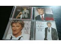 ROD STEWART.THE GREAT AMERICAN SONGBOOK VOLUMES 1.2.3.4..ALL CDS BRAND NEW.
