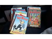 14 mixed broons .our wullie books
