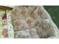 Free!!!!! 3 seater sofa and chair