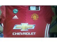 BRAND NEW Manchester United shirt 2016 shirt