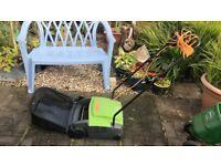 Scarifier for lawns