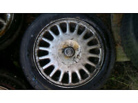 "15"" Alloy wheels - 15 - 4x100 PCD -"