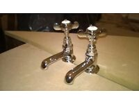 Traditional Chrome Taps