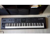 Roland A-90 EX 88 note weighted piano action midi controller and piano