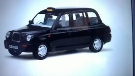 WANTED retierd end of sevice tx1 black london taxi cash waiting for you