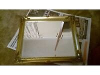 mirror antique look. gold. any questions welcome. collection in person