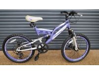 CHILDS DUNLOP SPORT SUSPENSION BIKE IN EXCELLENT USED CONDITION.. (SUIT APPROX. AGE. 6 / 7+)..