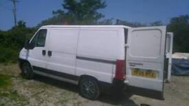 Van for sale Citroën relay 2 litre diesel cheap work horse