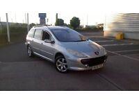 l@@k 06 reg Peugeot 307 sw 7 seater diesel ono