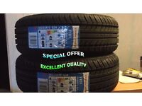 2 x185/55R 15 82H TRACMAX 2 TYRE'S INCLUDING FITTING BALANCING ONLY £60 NEW TYRE'S