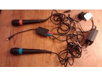 Singstar Microphones x 2 for Playstation 2 3 4