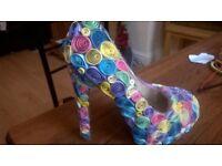 fairy tale decorative shoe