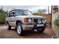 1999 Land Rover Discovery 2 TD5 Project/Spares - Chassis rusted, good engine and gearbox
