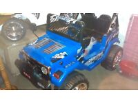 12 volt Drifter jeep (two seater)