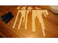 Scrabble letters over 350 and 5 stands