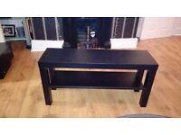 TV BENCH/TABLE - BLACK