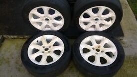 16 inch FORD Alloys 4x108