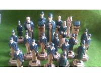Sherlock holmes chess set incomplete spares