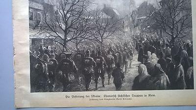 1918 10 Kiew Einmarsch deutscher Truppen Mackensen In Bukarest Corinth