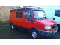 LDV Pilot 1.9 Diesel 84k FSH ex-Royal Mail van roof-rack MOT security lock fitted VGC £900 ono