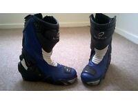 BLACK m/c boots