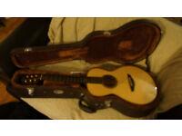 Faith Mercury parlour acoustic guitar