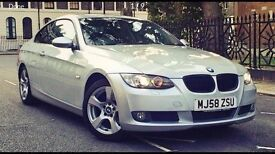 BMW 320D Coupe, 58 Plate, Full Heated Leather, Bi-xenon Headlights