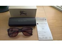 Burberry BE4233 57 Brown Tint Sunglasses CAN POST/DELIVER