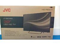 JVC 32 inch LED HD TV black