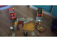 Playmobil construction site