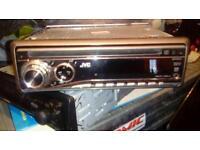 JVC car mp3 aux CD player