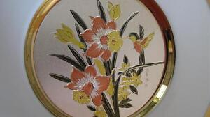 Chokin Plates/ collectables, x2 Large
