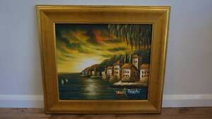 Gold framed painting Springwood Logan Area Preview