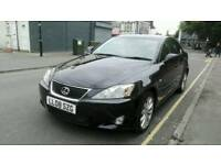 2008 08 Lexus i s 220 diesel black excellent condition full black leather interior