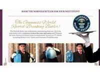 ENTERTAINING BUTLER. AS SEEN ON BRITONS GOT TALLENT. PROFESSIONAL MEET GREAT BUTLER FOR YOUR EVENT