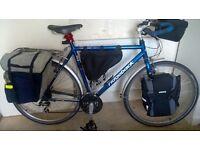 Ridgeback touring expedition meteor bike