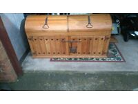large mexican pine trunk/chest