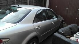 Mazda 6 TS 2L petrol manual only 73k miles any test accepted