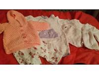 Newborn to 3 months girls items