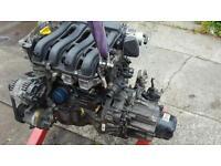 RENAULT SCENIC 1.6 VVT 115 ENGINE