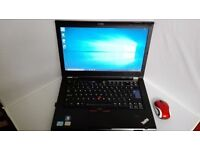 Business Lenovo thinkpad T420-i5 2nd generation,webcam,good battery,charger,win10,office07,warranty