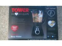 Tower 1.5 litre soup maker for sale