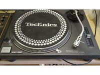 Pair Of Technics 1210mk2 and Mixer and Records