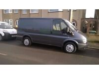 Van and driver available for small local transportation in or around the Bristol area ,