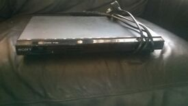 sony dvd player no remote full working order