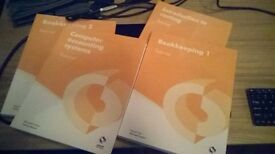 LEVEL 2 AAT BOOKS OSBOURNE (SET OF FOUR TUTORIALS I PURCHASED LAST YEAR PRACTICALLY NEW)